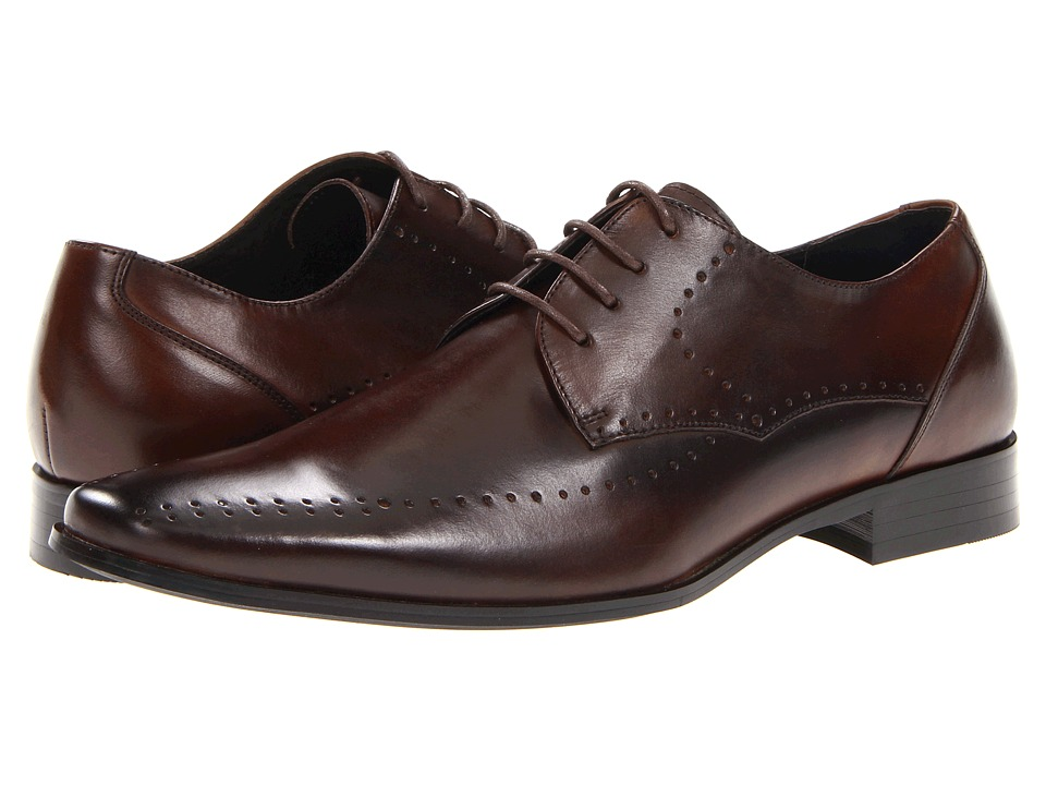 Stacy Adams Atwell (Brown Leather) Men