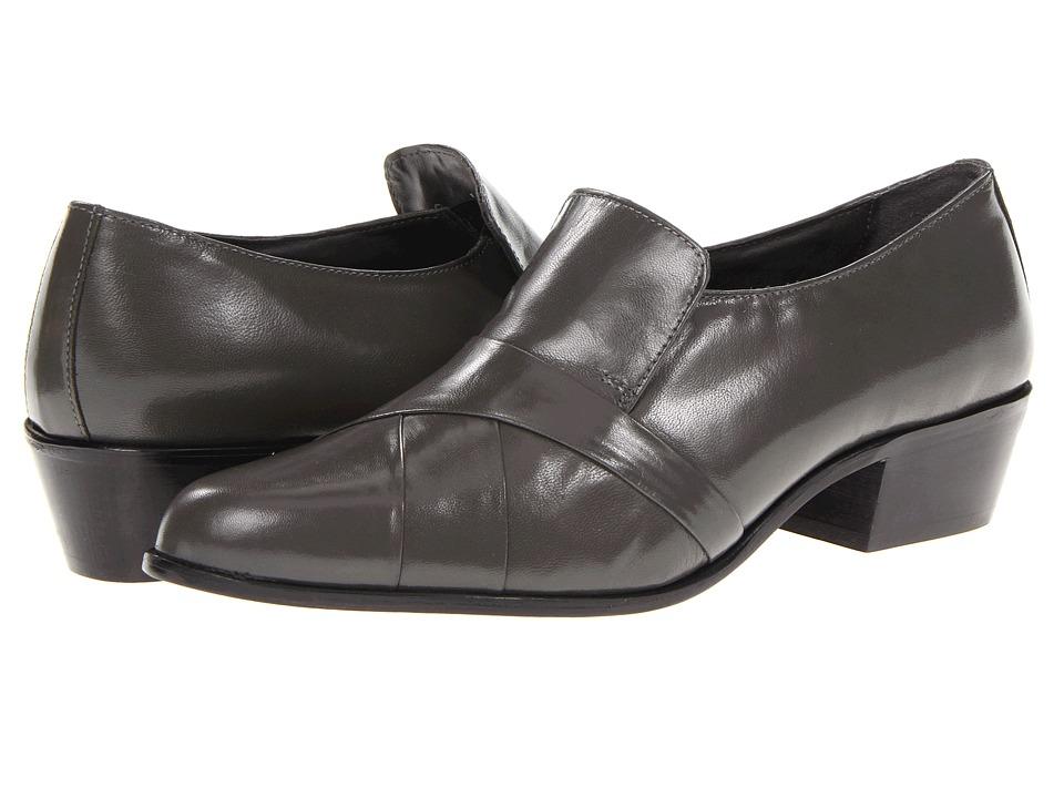 Stacy Adams - Soto (Gray Kidskin) Men's Slip on Shoes