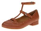 Fugu Malibu Loden (Saddle Local Lamb Leather) Women's Flat Shoes