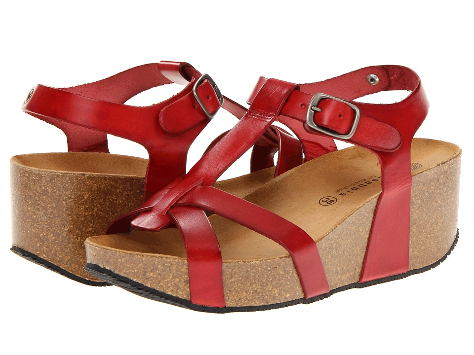 Eric Michael - Amy (Red) Women's Sandals