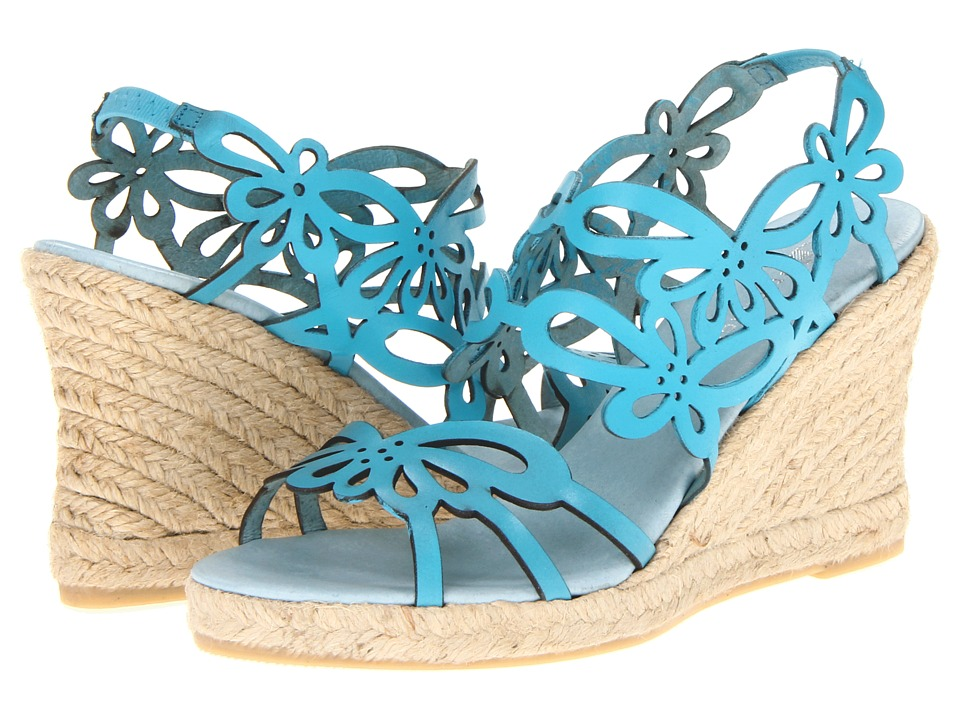 Eric Michael - Jillian (Blue) Women's Wedge Shoes