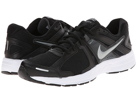 Nike - Dart 10 (Black/Anthracite/White/Metallic Cool Grey) Men's Running Shoes
