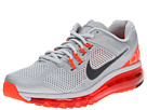 Nike - Air Max + 2013 (Pure Platinum/Total Crimson/Wolf Grey/Dark Grey) - Footwear
