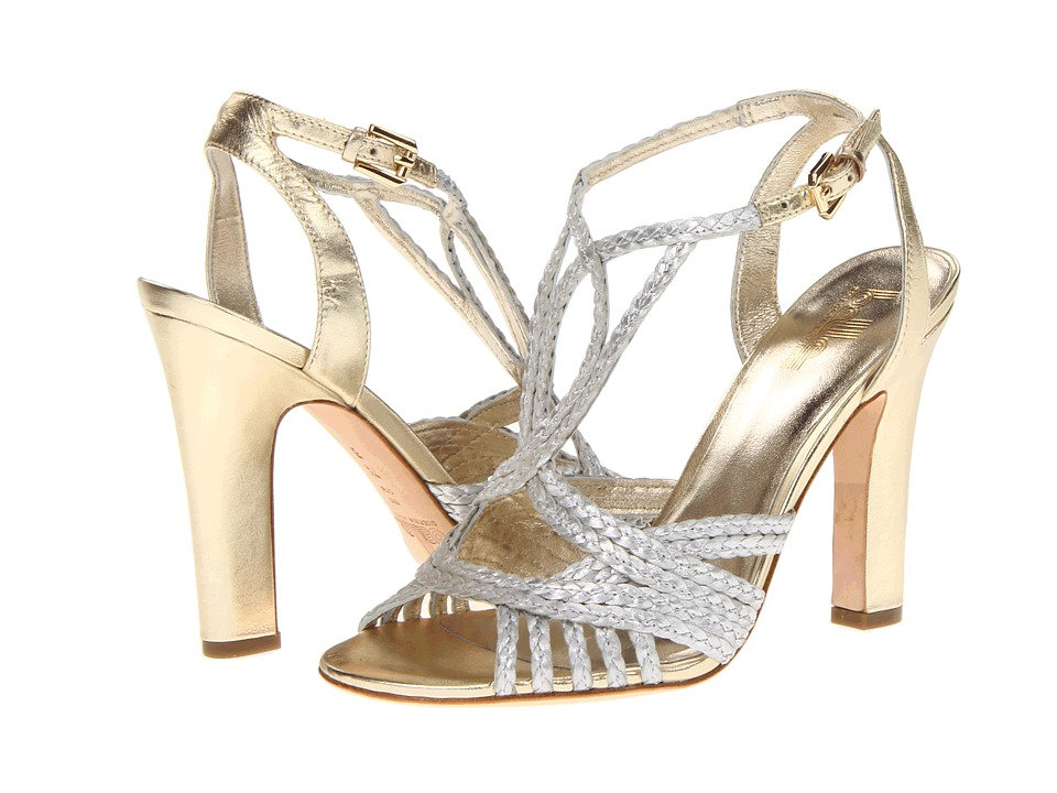 Belle by Sigerson Morrison - Alice (Silver/Light Gold) High Heels