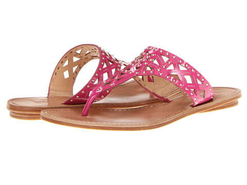 Belle by Sigerson Morrison - Riko (Pink Patent w/Studs) Women