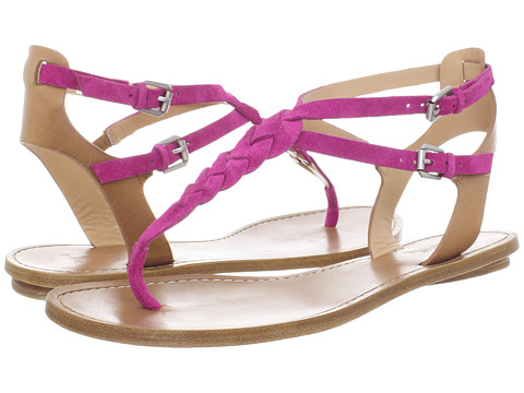 Belle by Sigerson Morrison - Rank (Pink Suede/Nude Leather) Women's Sandals