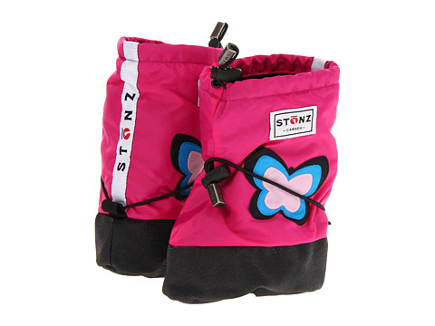 Stonz - Booties (Toddler/Little Kid) (Butterfly - Fuchsia) Girls Shoes