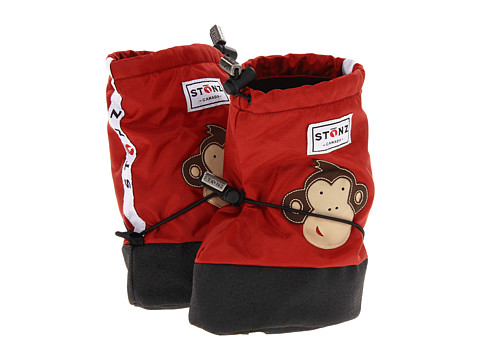 Stonz - Booties (Toddler/Little Kid) (Monkey - Brick Red) Kids Shoes