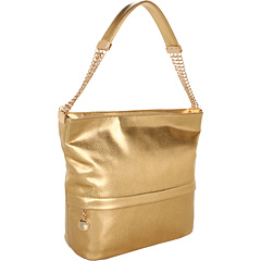 SALE! $81.99 - Save $68 on Ivanka Trump Vivian Bucket Hobo (Gold) Bags and Luggage - 45.34% OFF $150.00