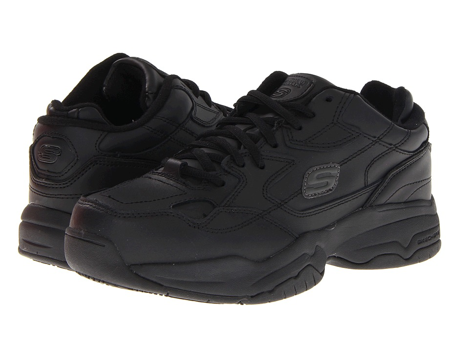 SKECHERS Work - Doozer (Black) Women's Industrial Shoes