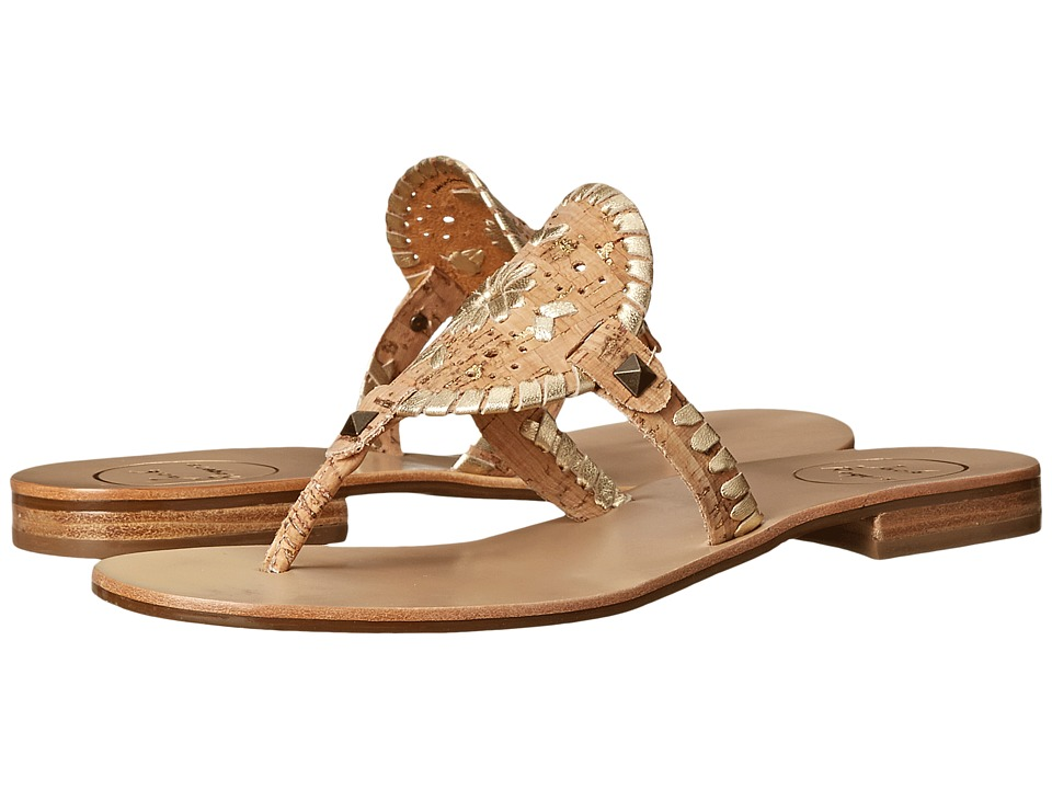 Jack Rogers - Georgica (Gold Fleck Cork) Women's Sandals