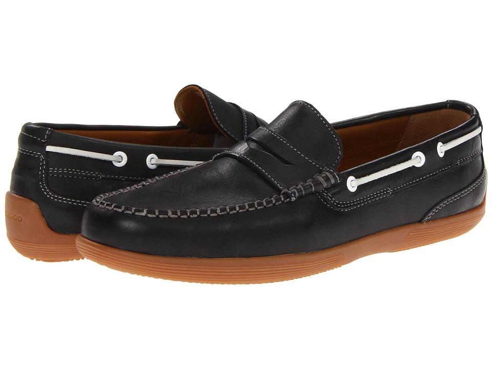 Sebago - Nantucket Classic (Black) Men's Shoes