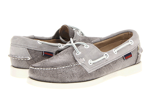 Sebago Spinnaker (Grey) Women's Lace up casual Shoes