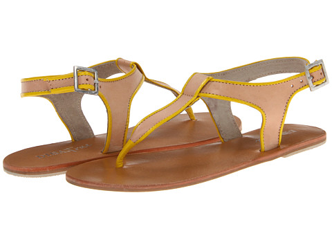 Diba - Ana Stasia (Nude/Yellow) Women's Sandals