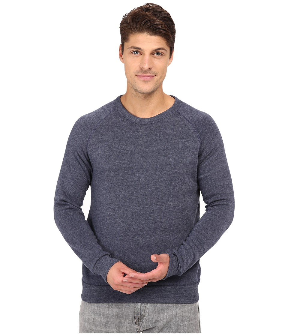 Alternative - Champ Eco Fleece Sweatshirt (Eco True Navy) Men's Long Sleeve Pullover