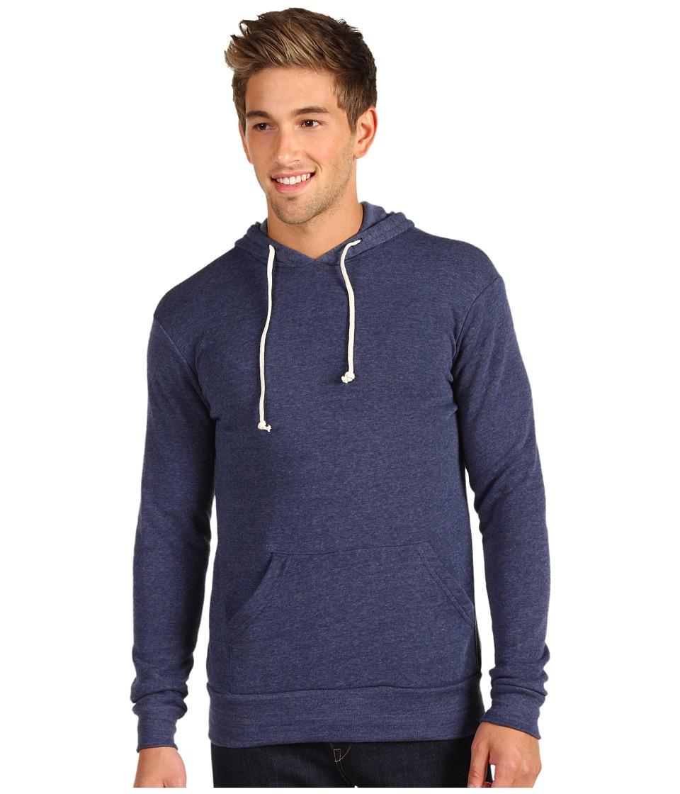 Image of Alternative - Hoodlum Pullover Hoodie (Eco True Navy) Men's Long Sleeve Pullover