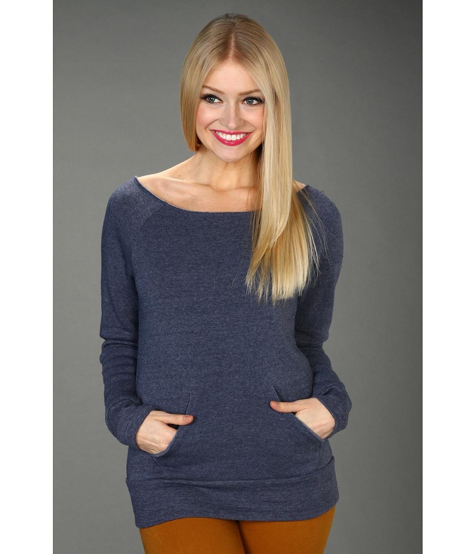Alternative - The Maniac Eco-Fleece Sweatshirt (Eco True Navy) Women's Sweatshirt