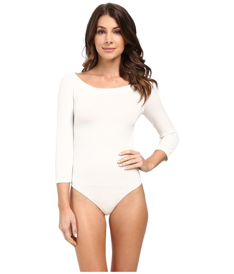 Wolford - Lisbon String Bodysuit (Ecrue) Women's Underwear
