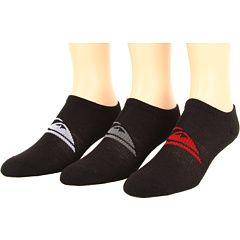 SALE! $9.99 - Save $8 on Quiksilver Brute Ank Sock (Big Kids) (Black) Footwear - 44.50% OFF $18.00