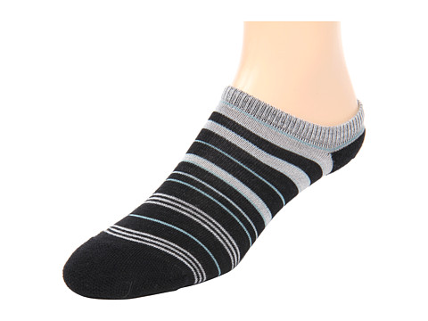 Keen - Super Strata Ultralite No Show (BLACK/SOFT GRAY-NEW) Women's No Show Socks Shoes