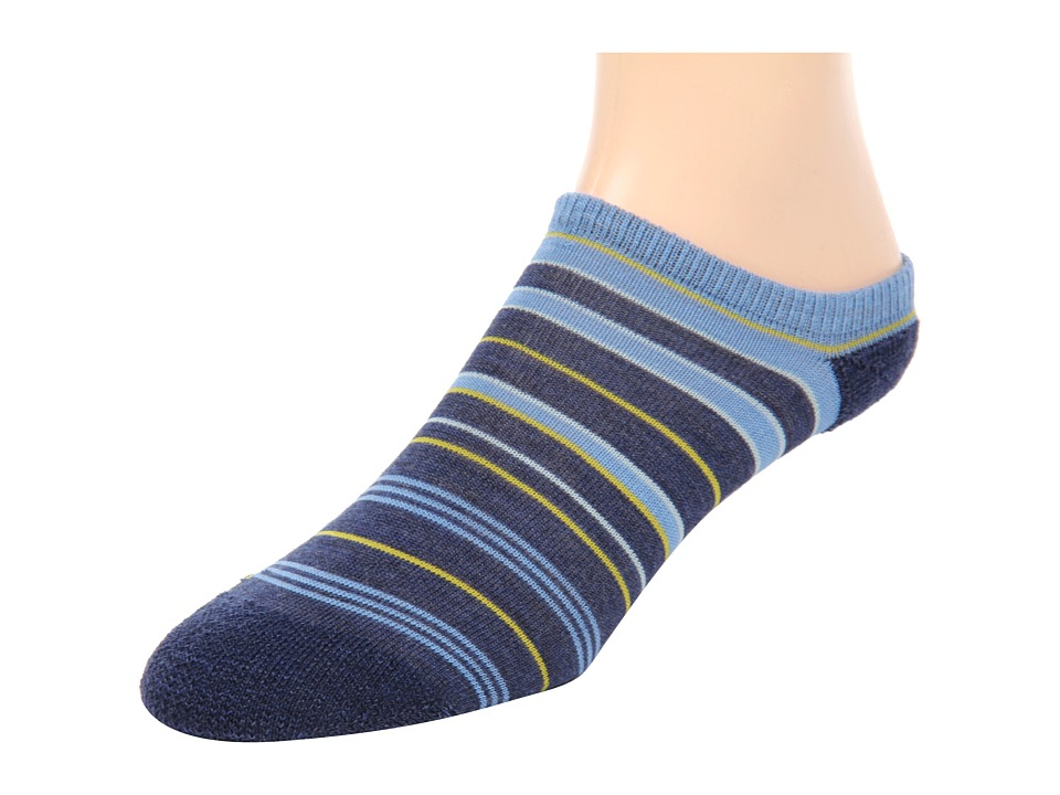 Keen - Super Strata Ultralite No Show (INDIGO/LIGHT BLUE-NEW) Women's No Show Socks Shoes