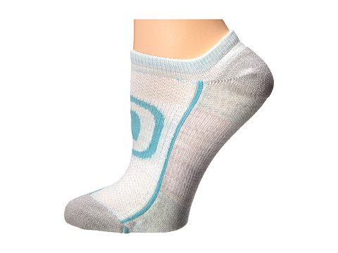 Keen - Zip Hyperlite No Show (LIGHT SEA FOAM/SOFT GRAY/DUSTY-NEW) Women's No Show Socks Shoes