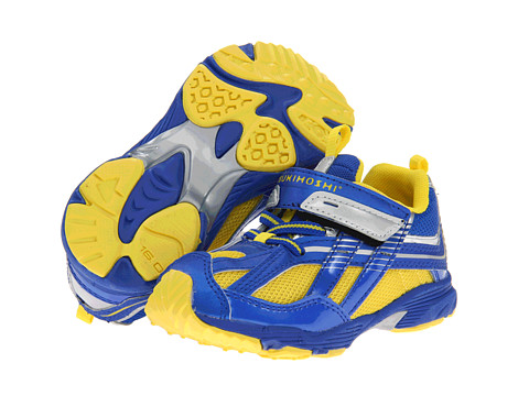 Tsukihoshi Kids - Blaze (Toddler/Little Kid) (Blue/Yellow) Boy's Shoes