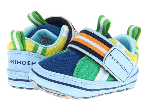 Tsukihoshi Kids - Ichi (Infant/Toddler) (Blue Multi) Boys Shoes