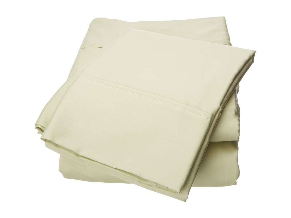 Elite - Wrinkle Resistant Sheet Set - Full (Sage) Sheets Bedding