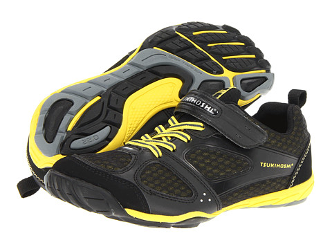 Tsukihoshi Kids - Mako HL 2 (Little Kid/Big Kid) (Black/Yellow) Boys Shoes
