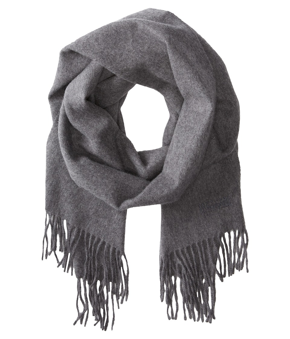 Wolford - Cape Cod Cashmere Scarf (Grey Mele) Scarves