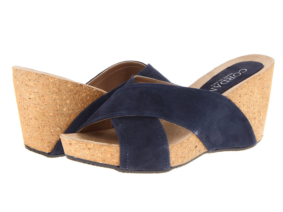Cordani - Adriana (Navy) Women's Wedge Shoes