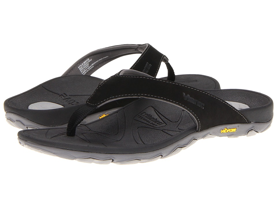 baaa10894f07 UPC 616542056384 product image for VIONIC with Orthaheel Technology Bryce ( Black) Men s Sandals ...