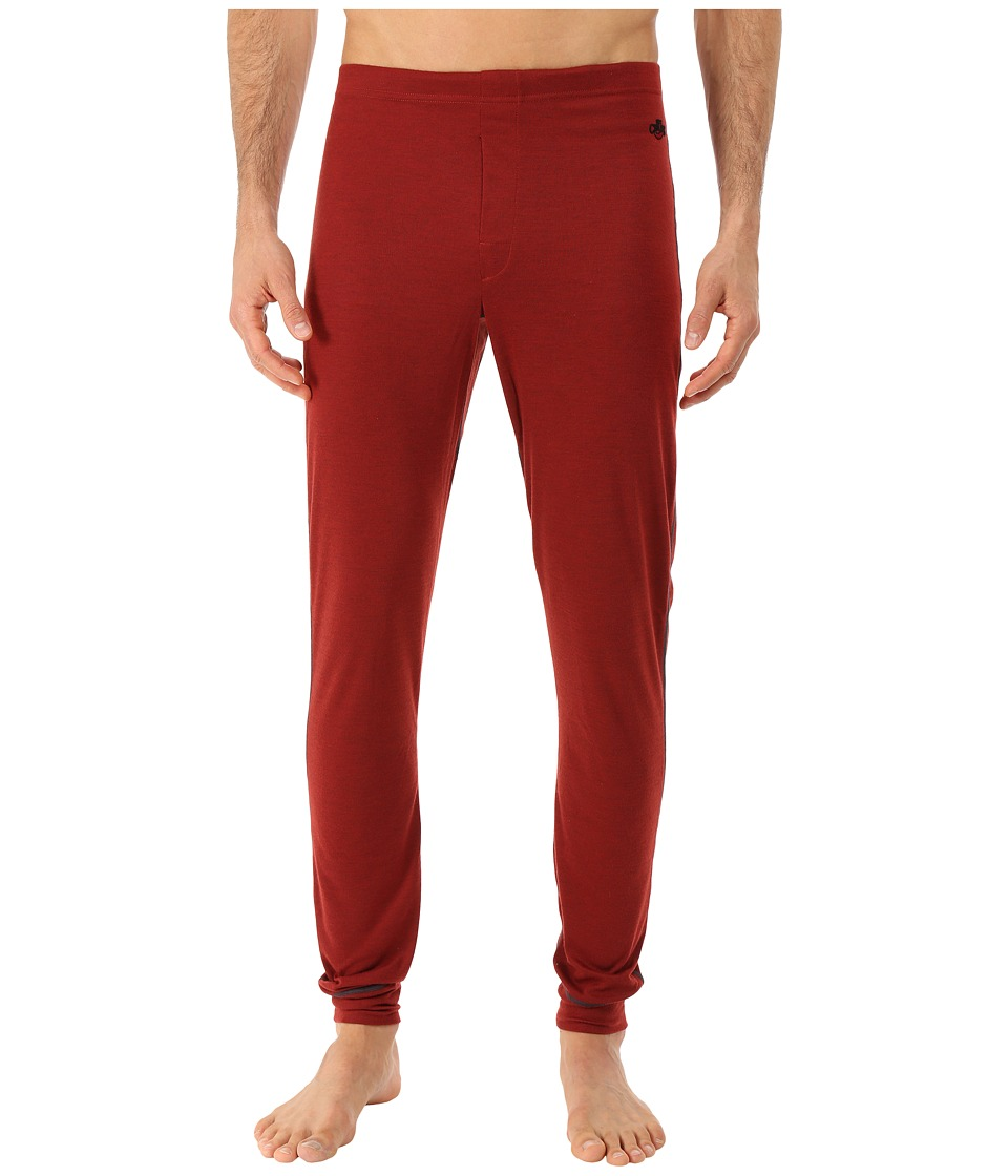 Hot Chillys - Geo Pro Fly Bottom (Ember Heather) Men's Casual Pants