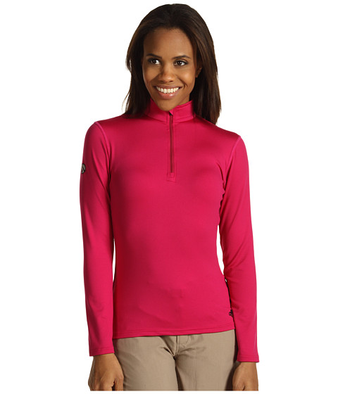 Hot Chillys - Micro-Elite Chamois 8K Solid Zip-T (Razzle) Women