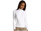 Hot Chillys Micro-Elite Chamois 8K Solid Zip-T (White)