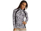 Hot Chillys MTF4000 Salsa Print Zip-T