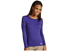 Hot Chillys Micro-Elite Chamois 8K Crew Neck (Blueberry)