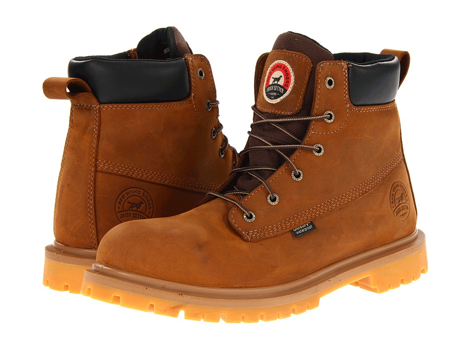 Irish Setter - 6 Brown WP Aluminum Toe (Brown) Men's Work Boots