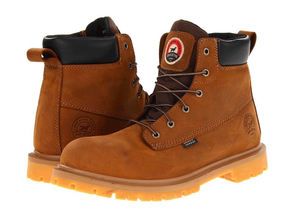 Irish Setter 6 Brown WP Aluminum Toe (Brown) Men