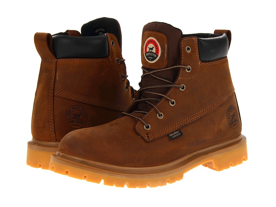 Irish Setter - 6 Brown WP (Brown) Men's Work Boots
