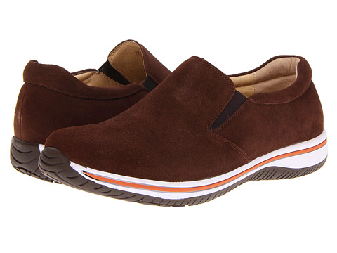 Alegria - Aaron (Caf ) Men's Slip on Shoes
