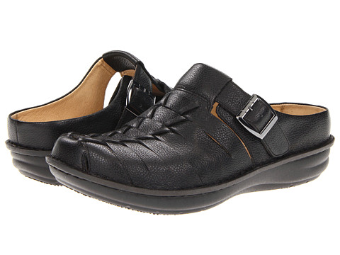Alegria - Curacao (Black Tumble) Men's Clog Shoes