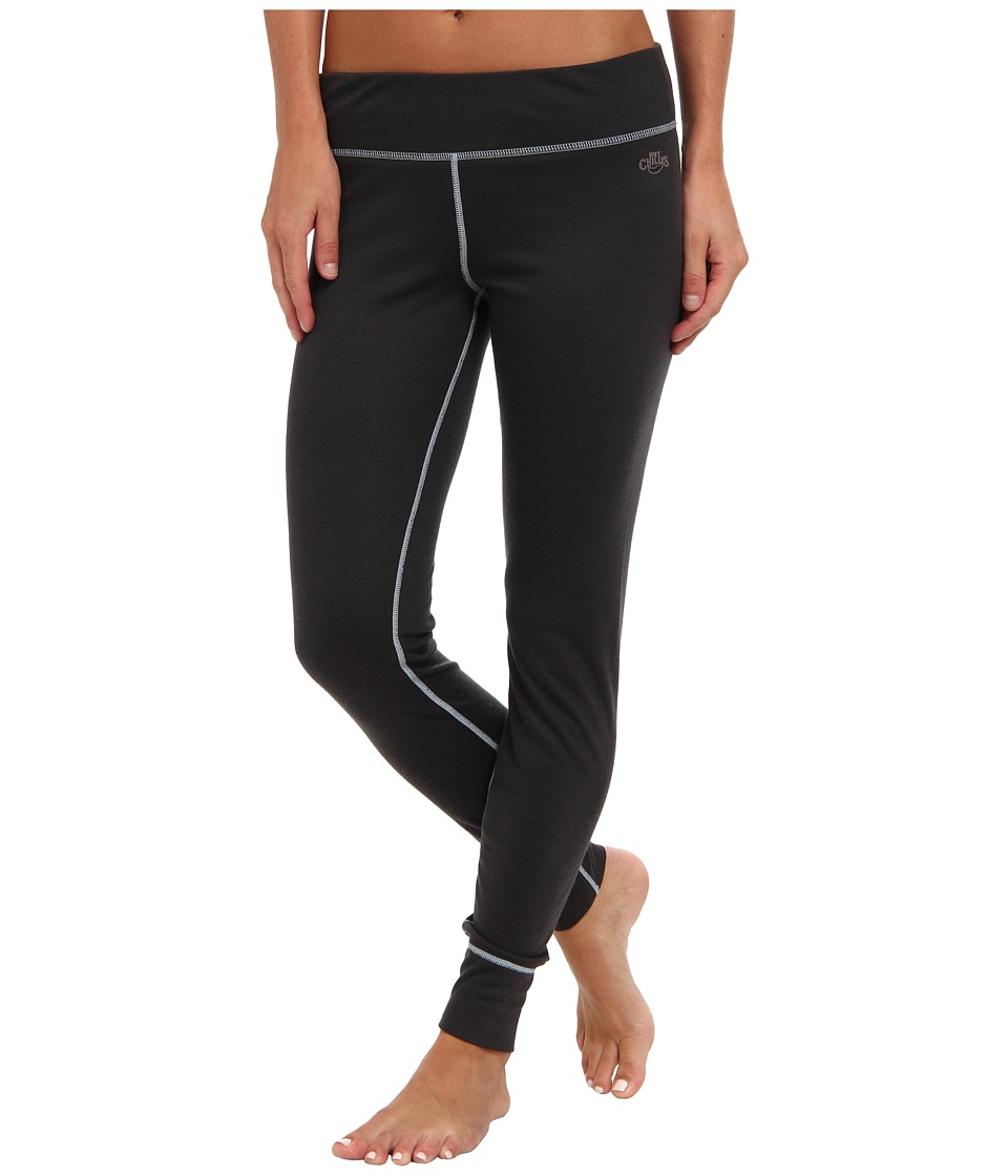 Hot Chillys - Geo Pro Bottom (Black Heather) Women's Casual Pants