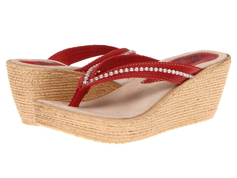 Sbicca - Fate (Red) Women's Sandals