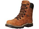 Wolverine Marauder Multishox Waterproof 8 Steel Toe Boot (Brown)