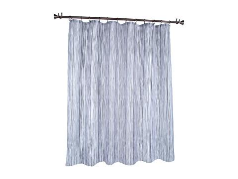 InterDesign Oodle Shower Curtain (Black/Gray) Bath Towels