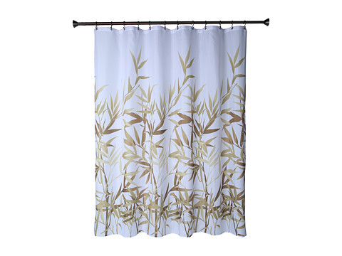 InterDesign Anzu Shower Curtain (Brown) Bath Towels