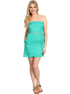 SALE! $19.25 - Save $36 on Volcom Sail To The Stone Dress (Bright Turquoise) Apparel - 65.00% OFF $55.00