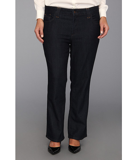 NYDJ Plus Size - Plus Size Petite Hayden Boot (Denim) Women's Jeans